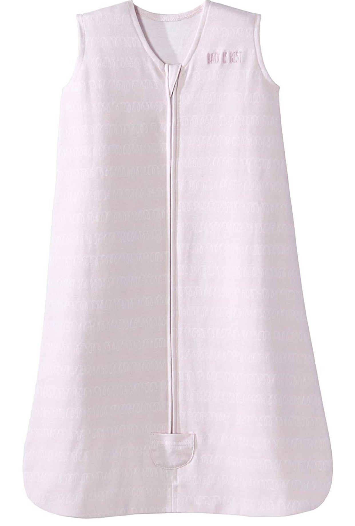 halo sleep sack pink